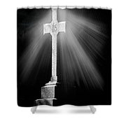 Shining Beacon Shower Curtain