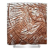 Shining Sun - Tile Shower Curtain