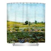 Shinnecock Hills, Summer - William Merritt Chase Shower Curtain