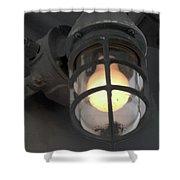Ship Light Shower Curtain