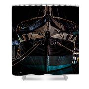 Ship Of Yesteryear Shower Curtain