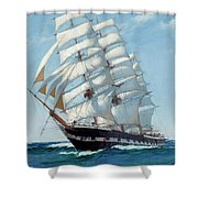 Ship Waimate - Detail Shower Curtain