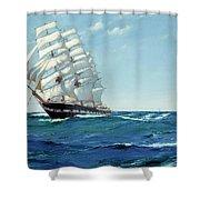 Ship Waimate Shower Curtain
