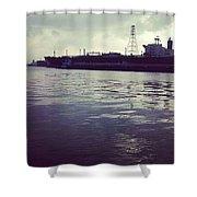Ship3 Shower Curtain