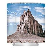 Shiprock #12 Shower Curtain
