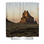 Shiprock 2 - North West New Mexico Shower Curtain