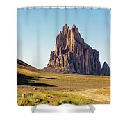Shiprock 3 - North West New Mexico Shower Curtain