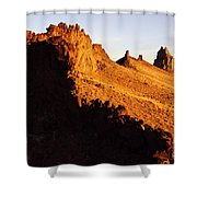 Shiprock New Mexico 2 Shower Curtain