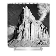 Shiprock New Mexico Shower Curtain