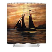 Ships Shower Curtain