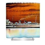 Shipshape 2 Shower Curtain