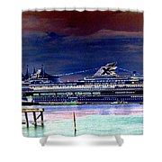 Shipshape 5 Shower Curtain