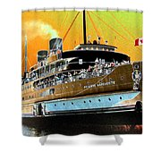 Shipshape 6 Shower Curtain
