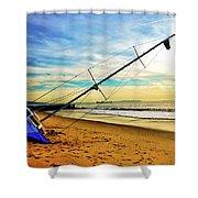 Shipwreck Series #1 Shower Curtain