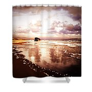 Shipwrecked 2 Shower Curtain