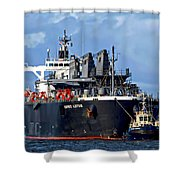 Port Of Amsterdam Shower Curtain