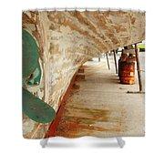 Shipyard Shower Curtain