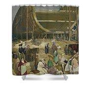 Shipyard Society Shower Curtain