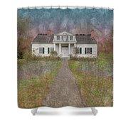 Shirley House  Shower Curtain