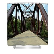 Shirley Railroad Bridge 1 Shower Curtain