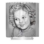 Shirley Temple Shower Curtain