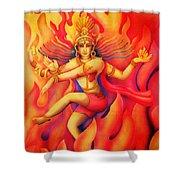 Shiva Nataraja Shower Curtain