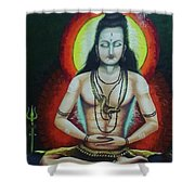 Shiva Shower Curtain