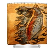 Shivers Of Delight - Tile Shower Curtain