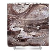 Shoal Of Stone Fish Shower Curtain