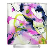 Shock Of Pink 1 Shower Curtain