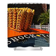 Shock Top Shower Curtain