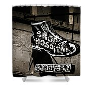 Shoe Hospital Shower Curtain