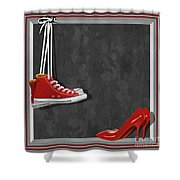 Shoes For Every Occasion Shower Curtain