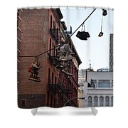 Shoes In The Sky Shower Curtain