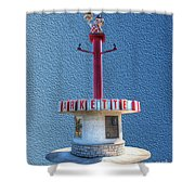 Shoneys Big Boy Museum Shower Curtain