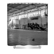 Shooters Alley Shower Curtain