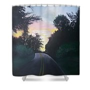 Shootin Creek Sunrise Shower Curtain