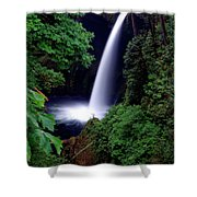 Shooting Falls Shower Curtain