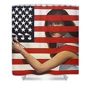 Shooting Gallery Shower Curtain