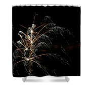 Shooting Stars Shower Curtain by Phill Doherty
