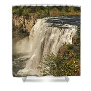 Shooting The Falls Shower Curtain