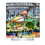 Shoppers Paradise  Shower Curtain
