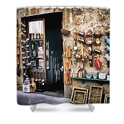 Shopping In Tuscany Shower Curtain
