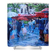 Shopping Montmartre Shower Curtain