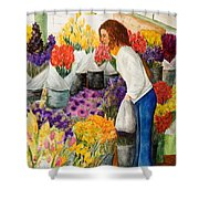 Shopping Pike's Market Shower Curtain