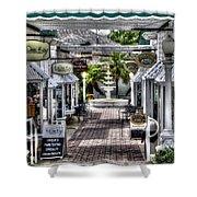 Shops Of Mt. Dora Shower Curtain
