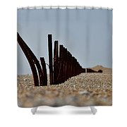 Shore Break Shower Curtain