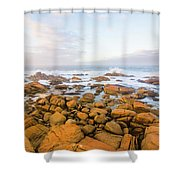 Shore Calm Morning Shower Curtain