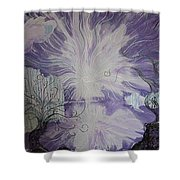 Shore Dance Shower Curtain