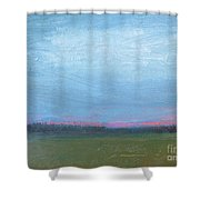 Spring Sunrise Shower Curtain